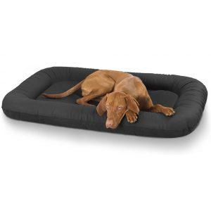 Knuffelwuff pflegeleichtes Hundebett Jerry aus robustem Kunstleder