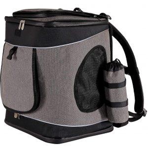 dibea Hunderucksack Hundetransporttasche Haustiertragetasche
